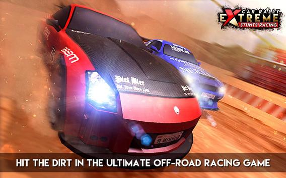 Car Rally Extreme Stunt Racing poster
