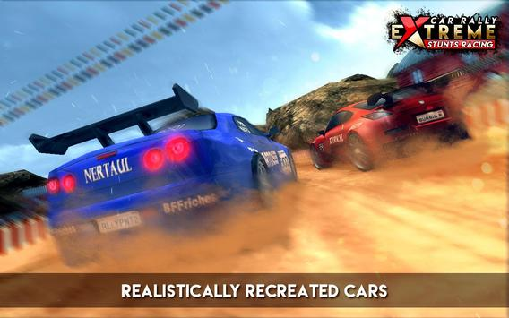 Car Rally Extreme Stunt Racing screenshot 1