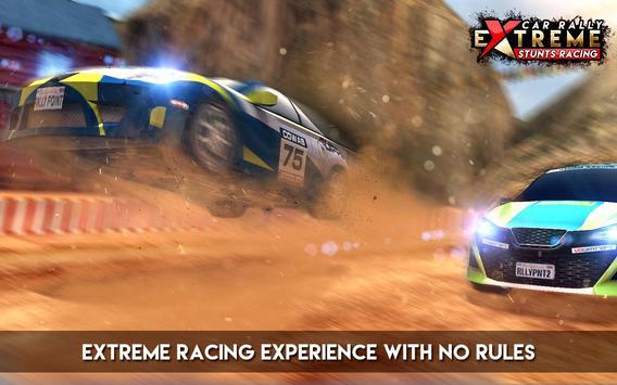Car Rally Extreme Stunt Racing screenshot 2