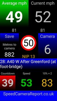 !TASCA Free average speed camera app screenshot 1