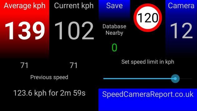 !TASCA Free average speed camera app screenshot 4