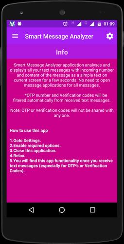 Smart Message Analyzer for Android - APK Download
