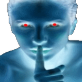 Shut up !.Mobile silence icon