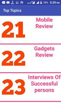 Top Topics apk screenshot