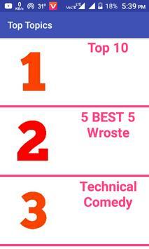 Top Topics poster