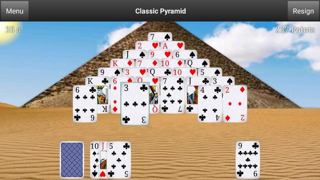 Classic Pyramid Free apk screenshot