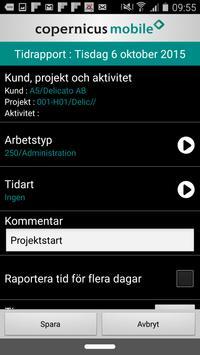 cTimeSheet apk screenshot