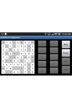 Sudoku For Beginners poster