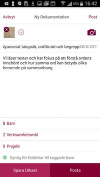 Förskoleappen apk screenshot