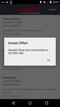 Izonen Offert screenshot 3