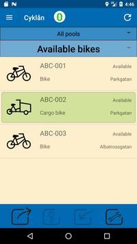Cyklån poster