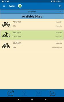 Cyklån screenshot 2
