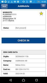 AddMobile ID06 apk screenshot