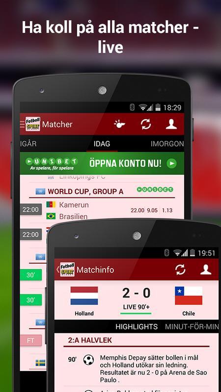 Sportbladet Fotboll for Android - APK Download 72a32165da03e