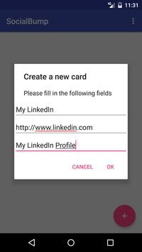 SocialBump apk screenshot