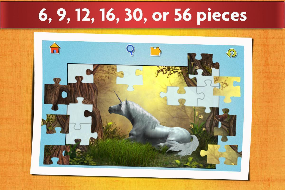 Juego de Unicornios Puzzle para niños y adultos 💖 Descarga APK ...