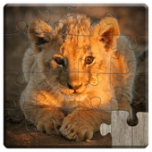 Animal Babies Jigsaw Puzzles Game - Kids & Adults icon