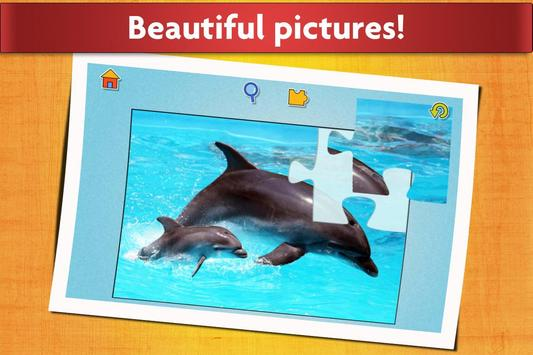 Animal Babies Jigsaw Puzzles Game - Kids & Adults apk screenshot