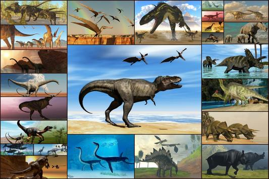 Dinosaurs Jigsaw Puzzles Game - Kids & Adults poster