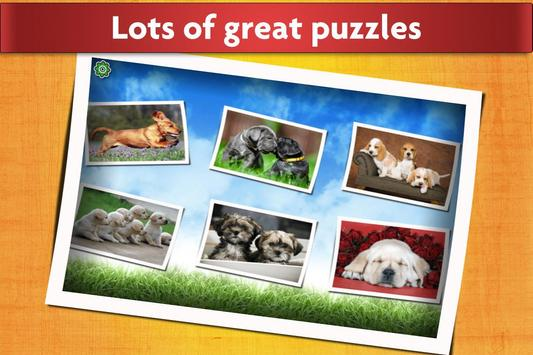 Dogs Jigsaw Puzzles Game - For Kids & Adults 🐶 apk screenshot