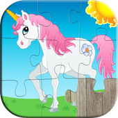 Kids Animals Jigsaw Puzzles 😄 icon