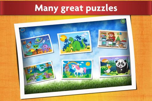 Kids Animals Jigsaw Puzzles 😄 apk screenshot