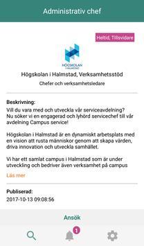 Jobba statligt 2.0 screenshot 2
