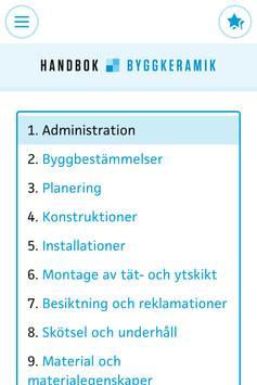 Handbok Byggkeramik poster