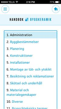 Handbok Byggkeramik apk screenshot