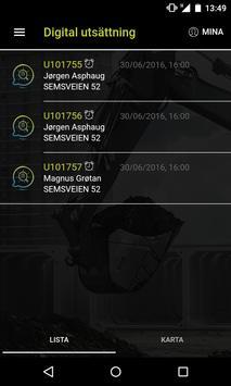 Digital Utsättning screenshot 1