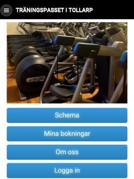 Träningspasset i Tollarp apk screenshot