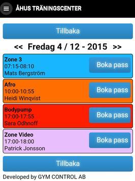 Åhus Träningscenter apk screenshot