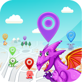 DracoMesh - Real time map for Draconius GO icon