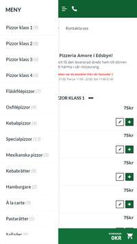 Pizzeria Amore i Edsbyn screenshot 1