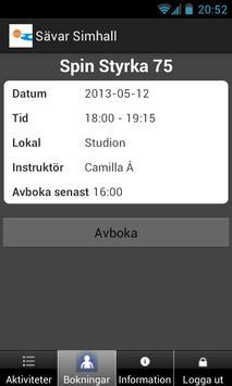 Sävar Simhall apk screenshot