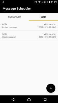 Message Scheduler apk screenshot