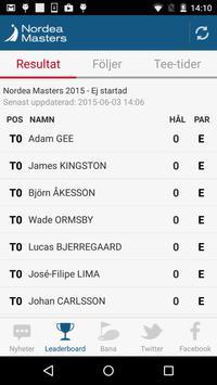 Nordea Masters 2015 screenshot 2