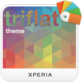 XPERIA™ Triflat Theme icon
