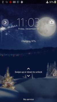 XPERIA™ Christmas Theme apk screenshot