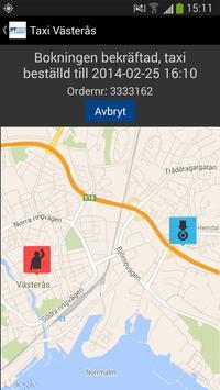 Taxi Västerås apk screenshot