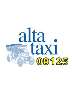 Alta Taxi poster