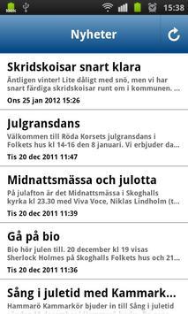 Hammarö kommun apk screenshot