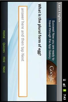 تعلم الانجليزية بسهولة screenshot 7