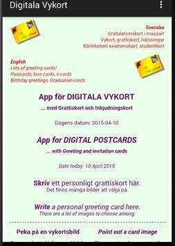 DIGITAL POSTCARDS poster