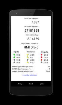HMI Droid screenshot 1