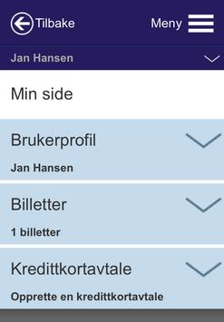 Nettbuss.no screenshot 3