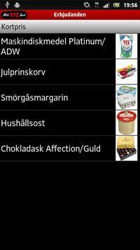 Mitt XYZ-kort apk screenshot