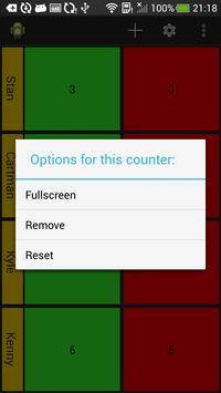 MultiCounter apk screenshot