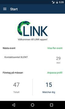 LINK-appen poster