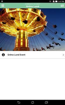 Gröna Lund Event screenshot 4